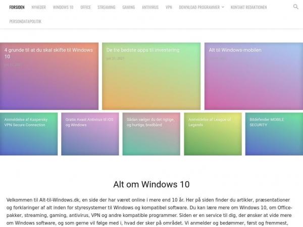 alt-til-windows.dk