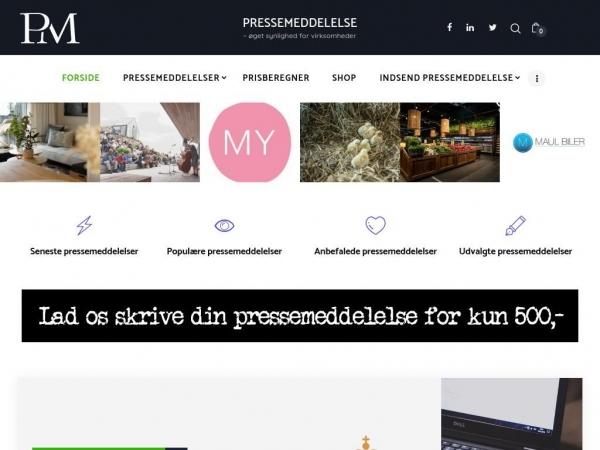 pressemeddelelse.dk