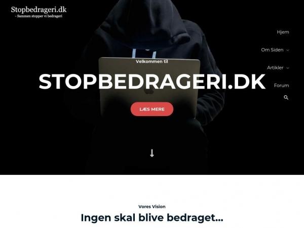 stopbedrageri.dk