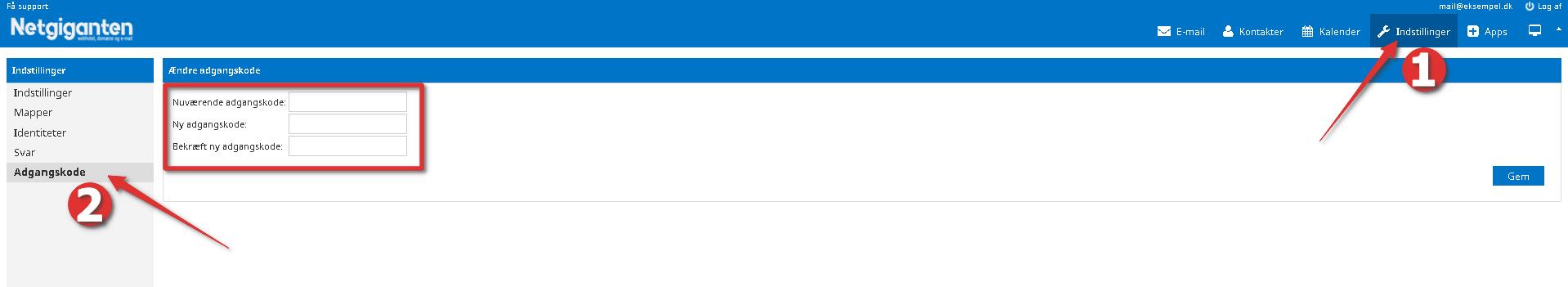 webmail_indstillinger_adgangskode_gem